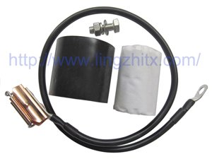Clip-on Grounding Kit for Coaxial Cable